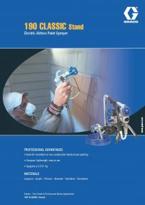 Graco 190 Brochure - ProQuip